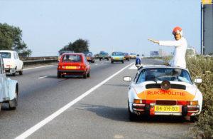 Algemene Verkeersdienst, Rijkspolitie, Groep Surveillance Autosnelwegen (SAS), Alex 1267, 84-XH-03, Rob Snelleman, Cees Groenendijk.