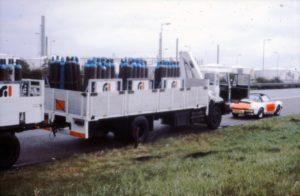 Algemene Verkeersdienst, Rijkspolitie, Groep Surveillance Autosnelwegen (SAS), Alex 1202, HJ-41-VK, gevaarlijke stoffen, bureau vorming en instruktie.