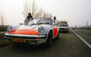 Algemene Verkeersdienst, Rijkspolitie, Groep Surveillance Autosnelwegen (SAS), Alex 1221, JL-10-FD, Rob van Meerbeek, Leo Vlasveld, A27.