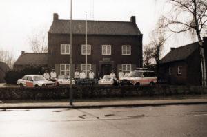 Algemene Verkeersdienst, Rijkspolitie, Groep Surveillance Autosnelwegen (SAS), Alex 1218, JL-12-FD, HJ-33-VK, Alex 1210, Range Rover, steunpunt Grathem.