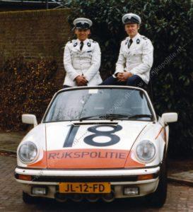Algemene Verkeersdienst, Rijkspolitie, Groep Surveillance Autosnelwegen (SAS), Alex 1218, JL-12-FD, Rob de Bie, Jan Pragt.