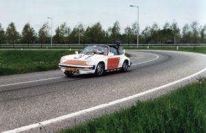 Algemene Verkeersdienst, Rijkspolitie, Groep Surveillance Autosnelwegen (SAS), Alex PV-66-NB, Alex 1231, Ad Zijlmans.