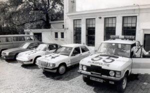 Algemene Verkeersdienst, Rijkspolitie, Groep Surveillance Autosnelwegen (SAS), Alex 1202, RP-60-FX, steunpunt Badhoevedorp, Mercedes 190, LX-66-XG, Range Rover, NY-84-JG, Alex 1455.