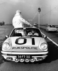Algemene Verkeersdienst, Rijkspolitie, Porsche 911 targa, 14-FT-30, Alex 1201, Sportomatic.