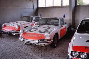 Algemene Verkeersdienst, Rijkspolitie, Groep Surveillance Autosnelwegen (SAS), Alex 1217, 21-80-SP, Alex 1263, 15-43-GU, Porsche 912 targa.