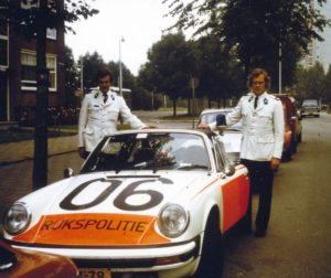 Algemene Verkeersdienst, Rijkspolitie, Groep Surveillance Autosnelwegen (SAS), Alex 1206, 33-JM-78, Chris Arts, Hans Hoogkamer.