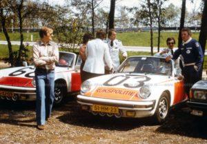 Algemene Verkeersdienst, Rijkspolitie, Porsche 911 targa, Alex 1268, 25-XJ-09, Alex 1203, 51-HM-23, Jan Otten, Hans van Gemert, Rinze Hiddinga.