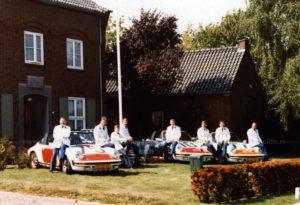 Algemene Verkeersdienst, Rijkspolitie, Groep Surveillance Autosnelwegen (SAS), Alex GB-96-YS, Alex 1295, Alex 1275, FZ-25-HZ, Alex 1210, HJ-33-VK, Alex 1277, kenteken FZ-27-HZ, Jan Jansen, Willem van Es, Vic Schuren, Jan Geenen, Jan Pragt, Guido de Wit, Hans Tielemans en Aart ter Velde, steunpunt Grathem.
