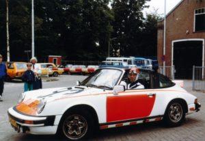 Algemene Verkeersdienst, Rijkspolitie, Porsche 911 targa, groep Surveillance Autosnelwegen, GB-98-YS, Alex 1293, Arie Klaver, Guido van Rooijen.