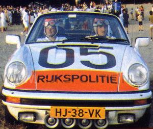 Algemene Verkeersdienst, Rijkspolitie, Groep Surveillance Autosnelwegen (SAS), Alex 1205, HJ-38-VK, Martin Besse, Theo Kok.
