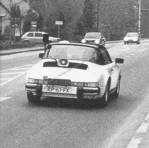 Algemene Verkeersdienst, Rijkspolitie, Porsche 911 targa, RP-61-FX, Alex 1203.