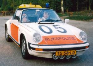 Algemene Verkeersdienst, Rijkspolitie, Groep Surveillance Autosnelwegen (SAS), Alex 1205, TG-58-LD, Dick Kits.