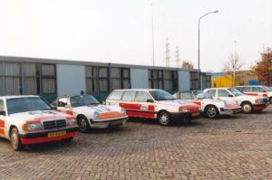 Algemene Verkeersdienst, Rijkspolitie, Groep Surveillance Autosnelwegen (SAS), Alex 1210, XF-02-FZ, steunpunt Assen, Mercedes 190, YV-55-PF, Alex 1259, VW Passat, YT-98-DT, Alex 1422.