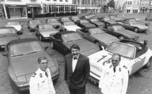 Algemene Verkeersdienst, Rijkspolitie, Groep Surveillance Autosnelwegen (SAS), Alex 1218, XS-87-VX, Jan van Erk, René Waarsenburg.