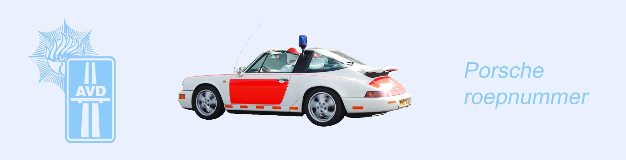 Porsche roepnummer