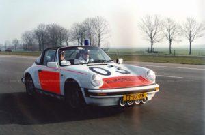 Algemene Verkeersdienst, Rijkspolitie, Porsche 911 targa, TT-97-FR, Alex 1203, Rijk Boon.