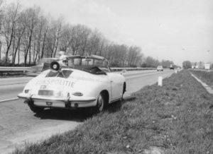 Algemene Verkeersdienst, Rijkspolitie, sectie bijzondere verkeerstaken (SBV), Groep Surveillance Autosnelwegen (SAS), EJ-79-48.
