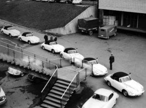 Algemene Verkeersdienst, Rijkspolitie, Sectie bijzondere verkeerstaken (SBV), Stuttgart, Ford Fairlane.