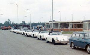 Algemene Verkeersdienst, Rijkspolitie, Sectie bijzondere verkeerstaken (SBV), VW 1600, Fors Zephyr, Berg autoweg.