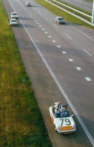 Algemene Verkeersdienst, Rijkspolitie, Groep Surveillance Autosnelwegen (SAS), Alex 1279, FZ-10-PL, BMW 323i, groep onopvallende surveillance, Henk Hadderingh.