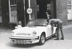 Algemene Verkeersdienst, Rijkspolitie, Groep Surveillance Autosnelwegen (SAS), Alex 75, FZ-25-HZ, Politie Technische Dienst Delft, Hooikade.