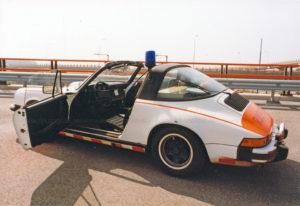 Algemene Verkeersdienst, Rijkspolitie, Groep Surveillance Autosnelwegen (SAS), Alex 1207, HJ-36-VK, Prins Clausplein.