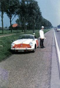 Algemene Verkeersdienst, Rijkspolitie, Groep Surveillance Autosnelwegen (SAS), 25-91-BK, Harry van Bruggen.