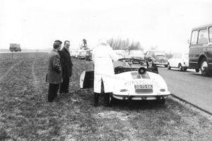 Algemene Verkeersdienst, Rijkspolitie, Groep Surveillance Autosnelwegen (SAS), 50-75-BA, Cor van de Kuijt, Frans Bossink.