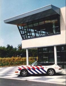 Algemene Verkeersdienst, Rijkspolitie, Groep Surveillance Autosnelwegen (SAS), Maasbracht, Anne Hunze.