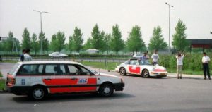 Algemene Verkeersdienst, Rijkspolitie, Groep Surveillance Autosnelwegen (SAS), Alex 1253, FD-SJ-19, VW Passat.