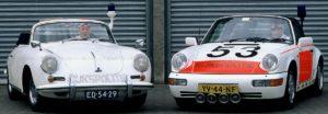Algemene Verkeersdienst, Rijkspolitie, Groep Surveillance Autosnelwegen (SAS), Alex 1253, YV-44-NF, John Bennink, Porsche 356 cabrio, ED-54-29, Toon Brouwer.