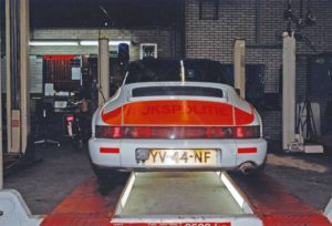 Algemene Verkeersdienst, Rijkspolitie, Groep Surveillance Autosnelwegen (SAS), Alex 1253, YV-44-NF, werkplaats AVD.