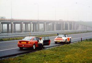 Algemene Verkeersdienst, Rijkspolitie, Groep Surveillance Autosnelwegen (SAS), Alex 1253, YV-44-NF, Henk Hadderingh.