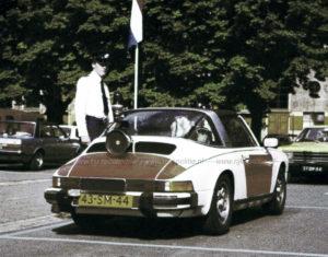 Algemene Verkeersdienst, Rijkspolitie, Groep Surveillance Autosnelwegen (SAS), Alex 1253, 43-SM-44, Berry Zandbergen, opleidingsschool Harlingen.
