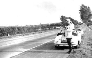 Sectie bijzondere verkeerstaken, Algemene Verkeersdienst, Rijkspolitie, Groep Surveillance Autosnelwegen (SAS), 25-88-BK, Piet Hertog, Paul Meijers, Herman van Asch.