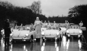 Dorus, Vlasakkers, Sectie Bijzondere Verkeerstaken Rijkspolitie, Porsche 356, ER-40-51, 25-87-BK, Alex 2734, 25-90-BK, ER-40-51 en 25-87-BK, Dorus.