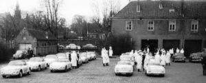 Algemene Verkeersdienst, Rijkspolitie, Groep Surveillance Autosnelwegen (SAS), 25-93-BK, 25-90-BK, Porsche 912 targa.