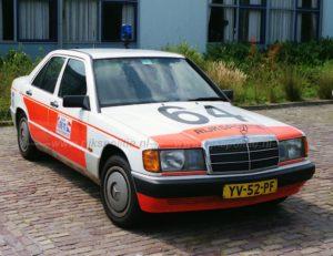 Algemene Verkeersdienst, Rijkspolitie, Alex 1264, YV-52-PF, steunpunt Assen, Lex Goumare.