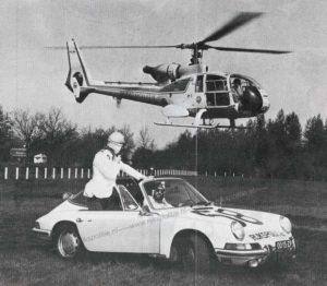 Algemene Verkeersdienst, Rijkspolitie, Alex 1258, 00-15-ZP, helikopter Westland Gazelle.