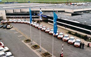 Algemene Verkeersdienst, Rijkspolitie, Mercedes 190E, Mercedes-Benz Nijkerk.