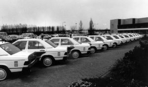 Algemene Verkeersdienst, Rijkspolitie, Mercedes 190E, Mercedes Benz Nijkerk.