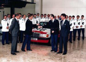 Algemene Verkeersdienst, Rijkspolitie, Mercedes 190E, Cees Doornhein, Jaap Kleppers, Mercedes-Benz Nijkerk.