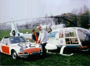 Algemene Verkeersdienst, Rijkspolitie, Westland Gazelle helikopter, buro vorming en instruktie (BVI), Kees de Koning .